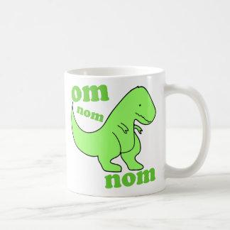 chompss de dinosaure de nom de nom de l'OM Mug