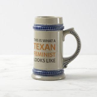 Chope À Bière À quel féministe texan ressemble
