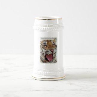 Chope À Bière Année de la bière Stein de tigre