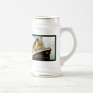 Chope À Bière Anniversaire de RMS Titanic 100th