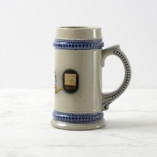 Chope À Bière Auberge cassée Stein de barillet