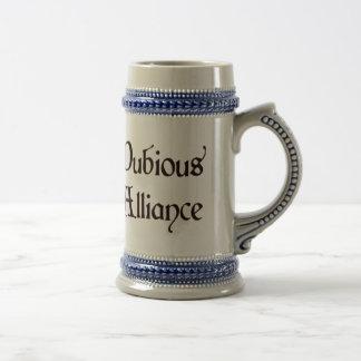Chope À Bière Aventures douteuses Stein d'Alliance
