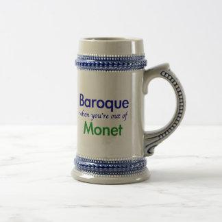 Chope À Bière Baroque - Monet