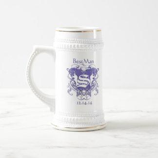 Chope À Bière BestMan épousant les lions vintages de Stein 2