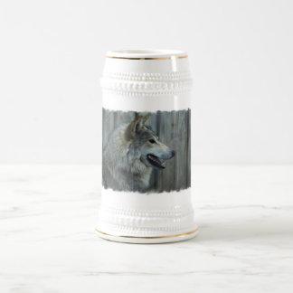 Chope À Bière Bière mexicaine Stein de loup