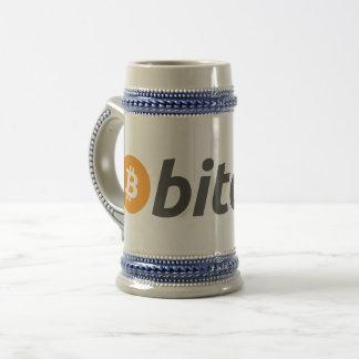 Chope À Bière Bière Stein de Bitcoin