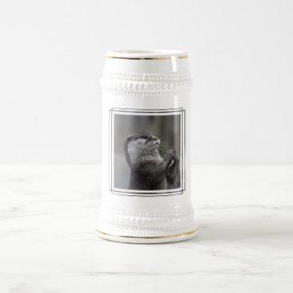 Chope À Bière Bière Stein de cerveau de loutre