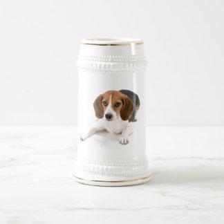 Chope À Bière Bière Stein de chien de beagle