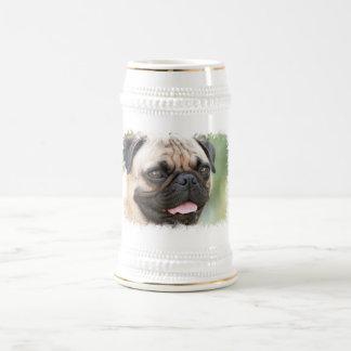 Chope À Bière Bière Stein de chien de carlin