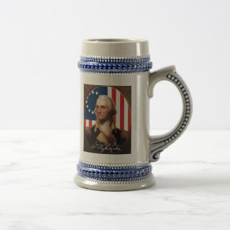 Chope À Bière Bière Stein de George Washington