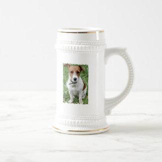Chope À Bière Bière Stein de Jack Russell Terrier
