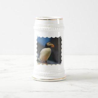Chope À Bière Bière Stein de macareux