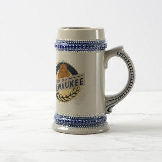 Chope À Bière Bière Stein de Milwaukee
