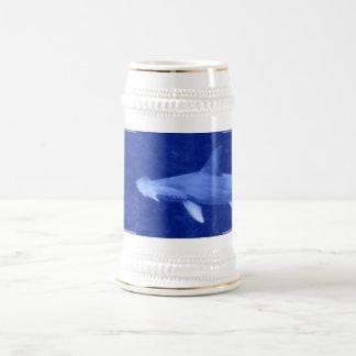 Chope À Bière Bière Stein de requin de poisson-marteau