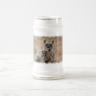 Chope À Bière Bière Stein d'hyènes