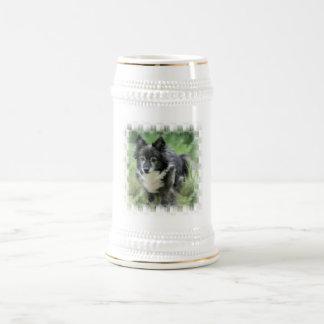 Chope À Bière Bière Stein d'image de chien de Sheltie