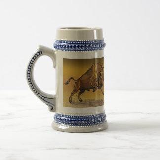 Chope À Bière bison européen