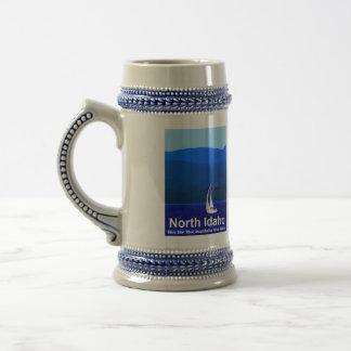 Chope À Bière Bleu du nord de l'Idaho