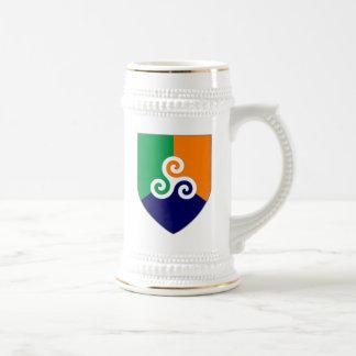 Chope À Bière Bouclier celtique irlandais Stein