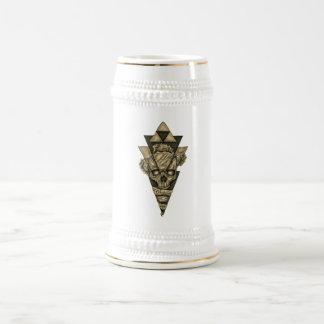 """Chope À Bière Canette de chopp «Crâne Pyramide """""""