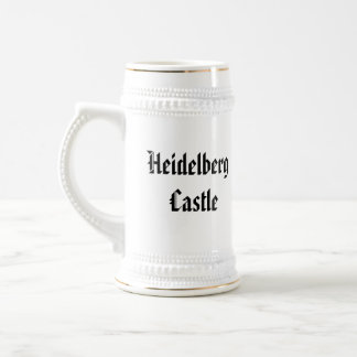 Chope À Bière Château d'Heidelberg - Stein
