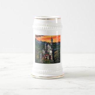 Chope À Bière Château Schloss Neuschwanstein
