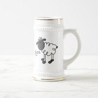 Chope À Bière Chiffre T-shirts et cadeaux de bâton de moutons