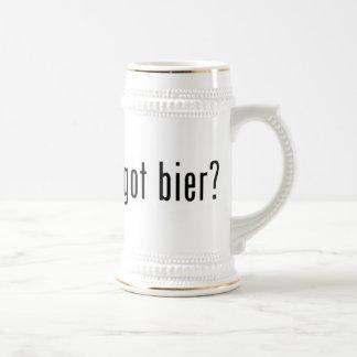 Chope À Bière civière obtenue ?