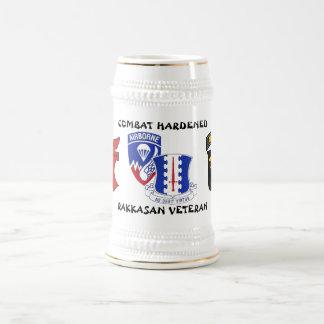Chope À Bière Combat de régiment d'infanterie de Rakkasan 187th