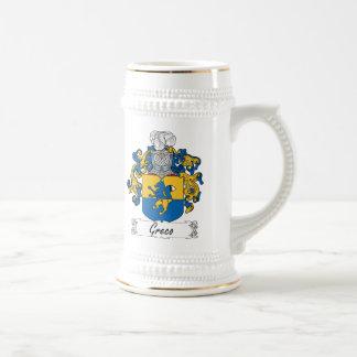 Chope À Bière Crête de famille de Greco
