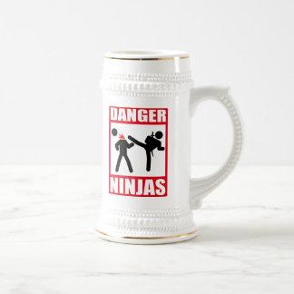 Chope À Bière Danger Ninjas