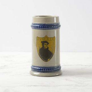 Chope À Bière De péché bière Stein de Martin Luther hardiment -