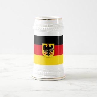 Chope À Bière Drapeau allemand Stein