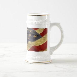 Chope À Bière Drapeau américain
