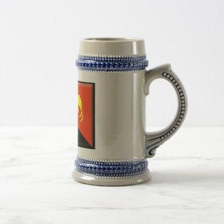 Chope À Bière Drapeau de la Papouasie-Nouvelle-Guinée
