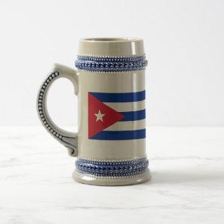 Chope À Bière Drapeau du Cuba