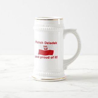 Chope À Bière Dziadek polonais fier (grand-père)