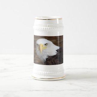 Chope À Bière Eagle chauve renversant