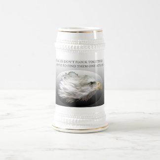 Chope À Bière Eagles ne s'assemblent pas ensemble Stein