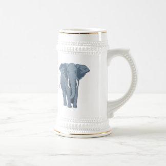 Chope À Bière Éléphant majestueux