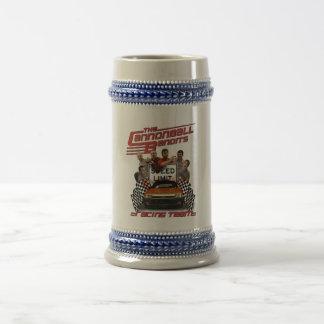 Chope À Bière Équipe d'emballage de bandit de boulet de canon