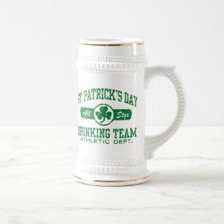 Chope À Bière Équipe potable du jour de St Patrick