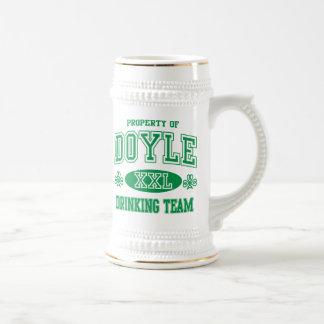 Chope À Bière Équipe potable irlandaise de Doyle