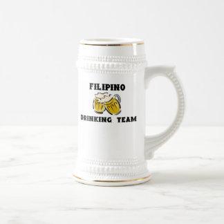 Chope À Bière Équipe potable philippine Stein