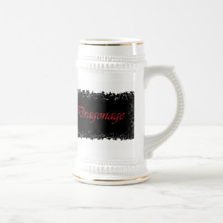 Chope À Bière Frontière affligée Stein