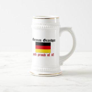 Chope À Bière Grand-papa allemand fier