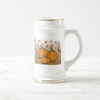 Chope À Bière Halloween ou produits de chute et d'automne de