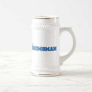 Chope À Bière Je suis Groomsman
