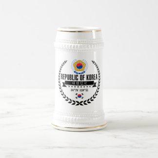 Chope À Bière La Corée du Sud
