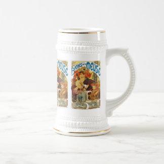 Chope À Bière La la Meuse (bière de Mucha - de Bieres De de la